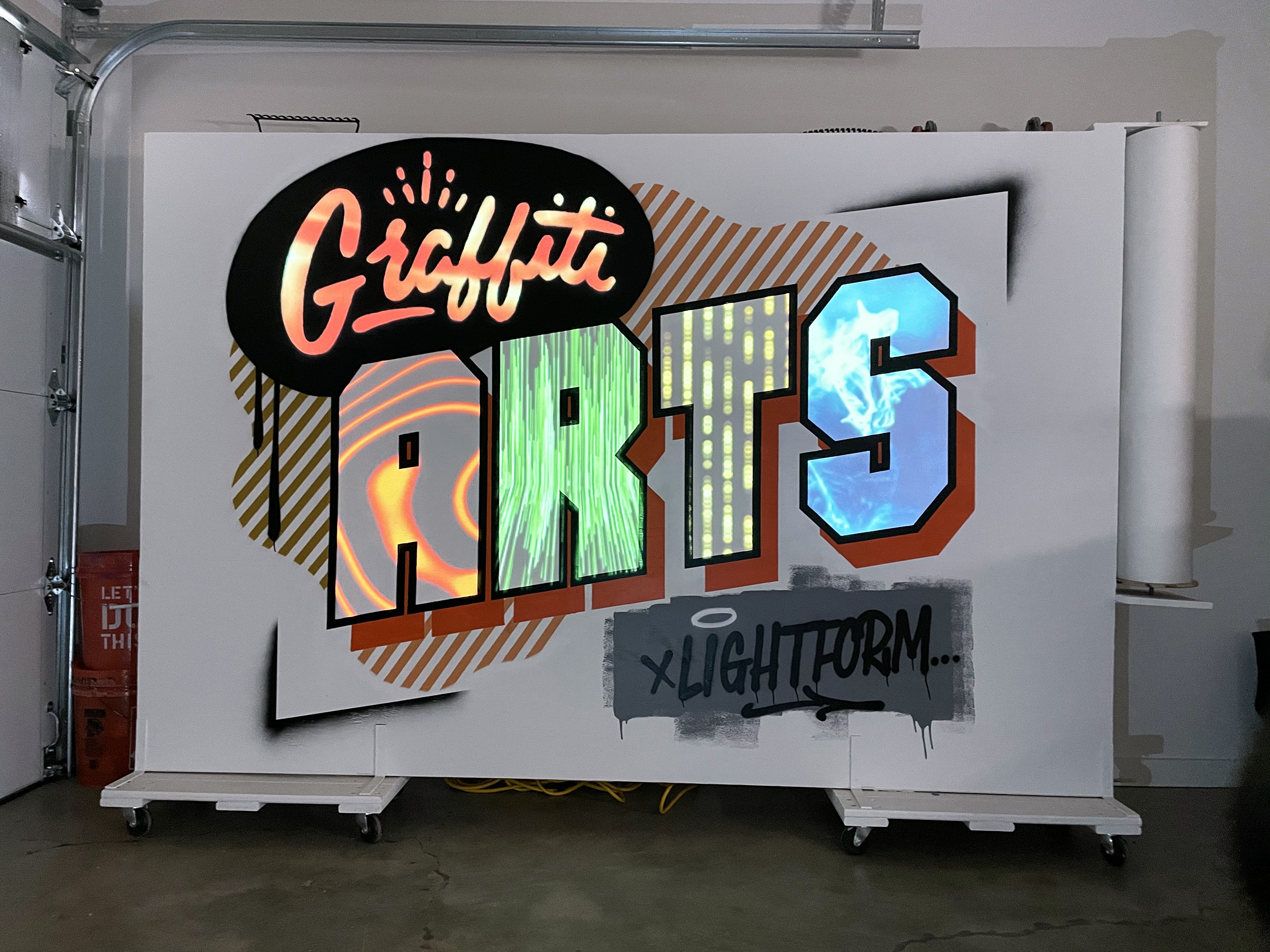 Projection Mapping Mural