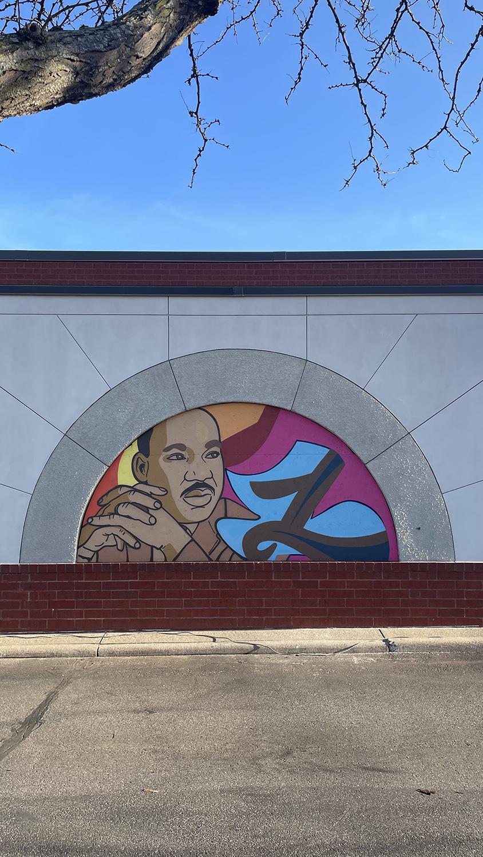 Love mural