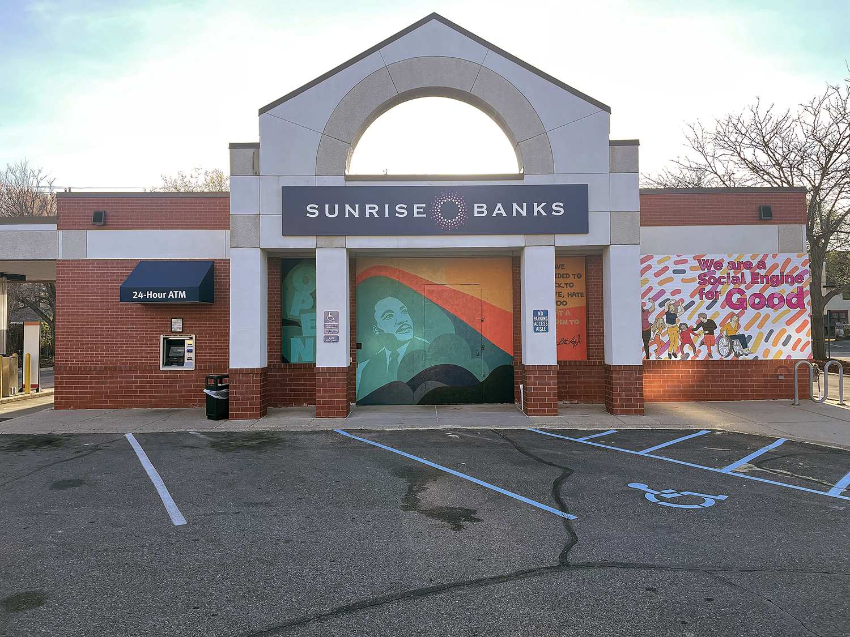 Minneapolis community mural