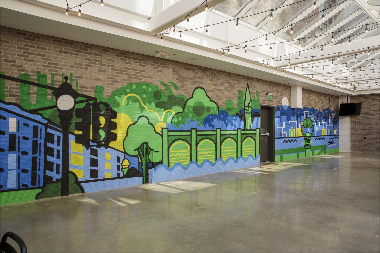 Shake Shack Hoboken Mural