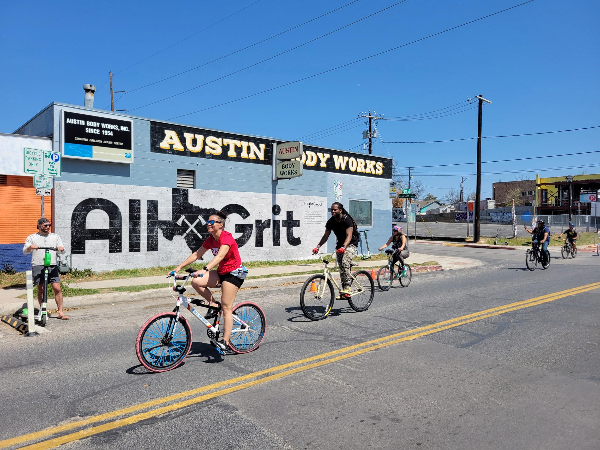 All Grit Austin - Street Art