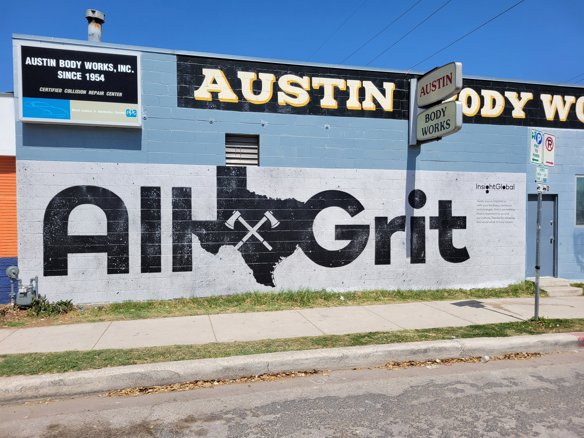 Austin Mural Ad Wall Painting