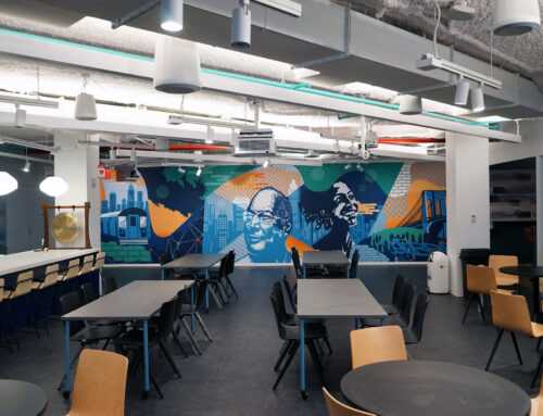 Interior Office Mural for Kinesso