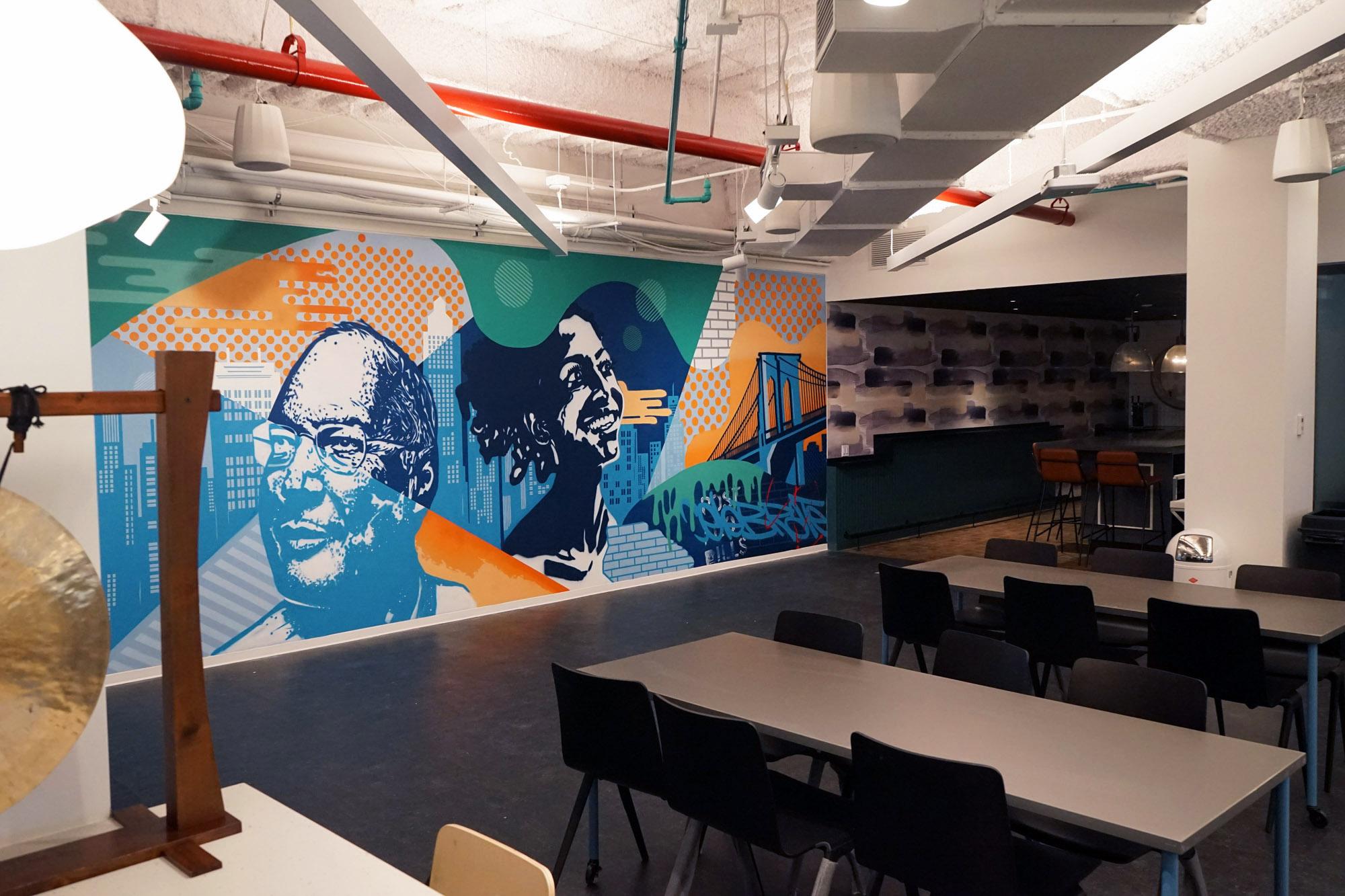 Office Mural Artwork