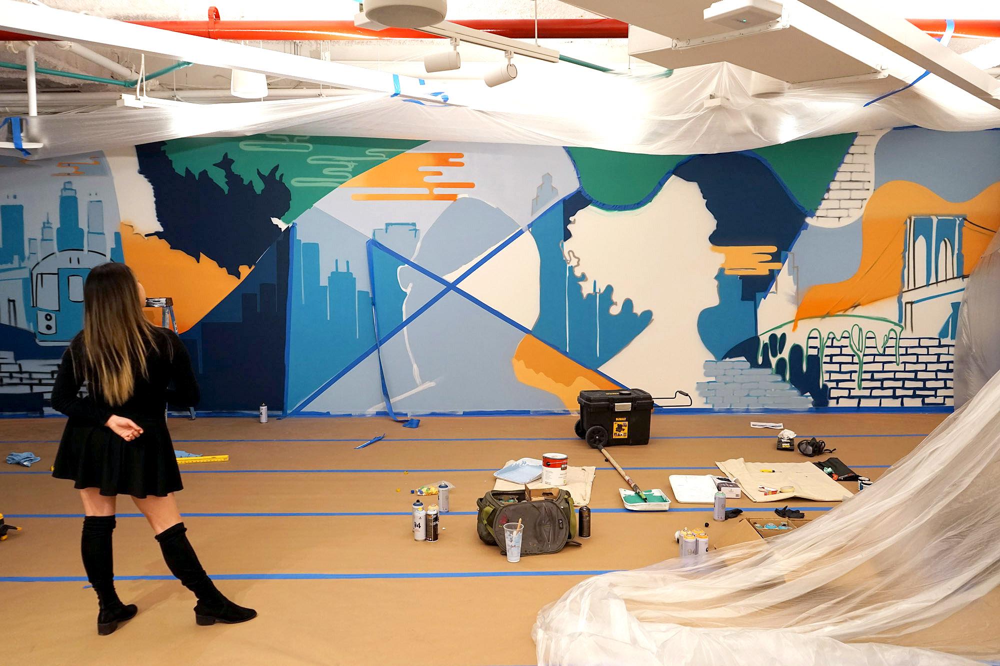 WIP - Graffiti Art Indoors